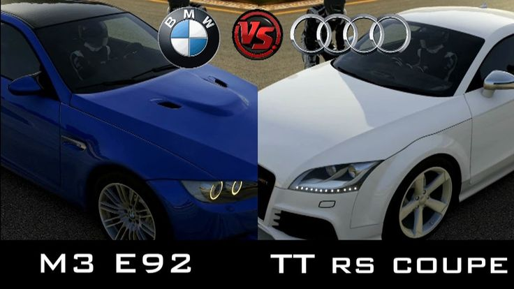 Forza 5 -  2008 BMW M3 E92 vs 2010 Audi TT RS Coupe #bmw #m3 #e92 #auti #tt #rs #xbox #one #racing #forza5 #gameplay #gaming