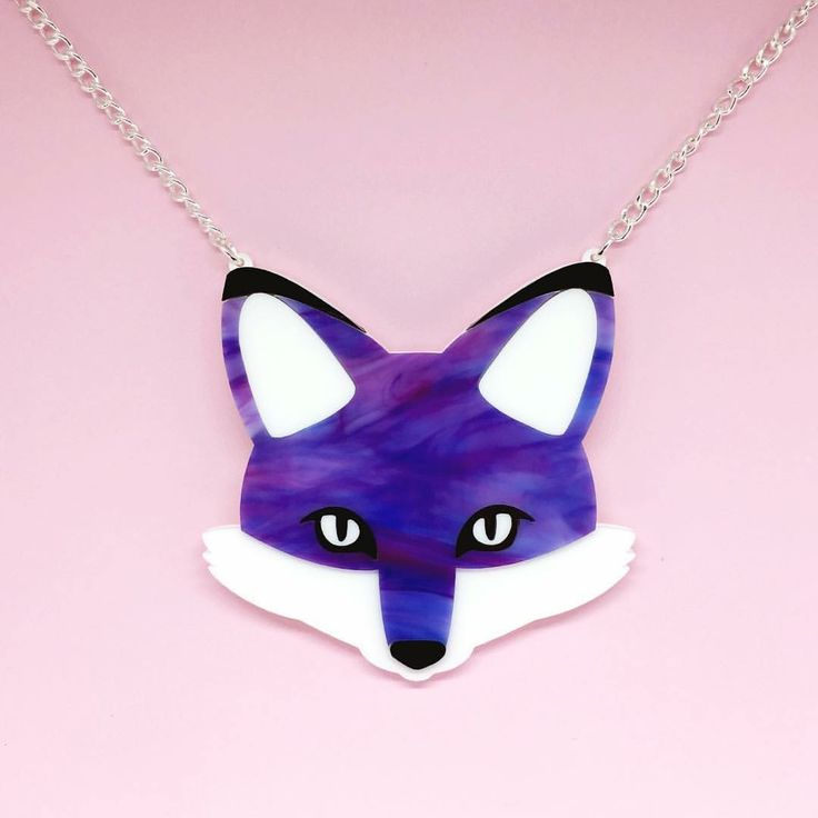 Florence the Fox Necklace (90)