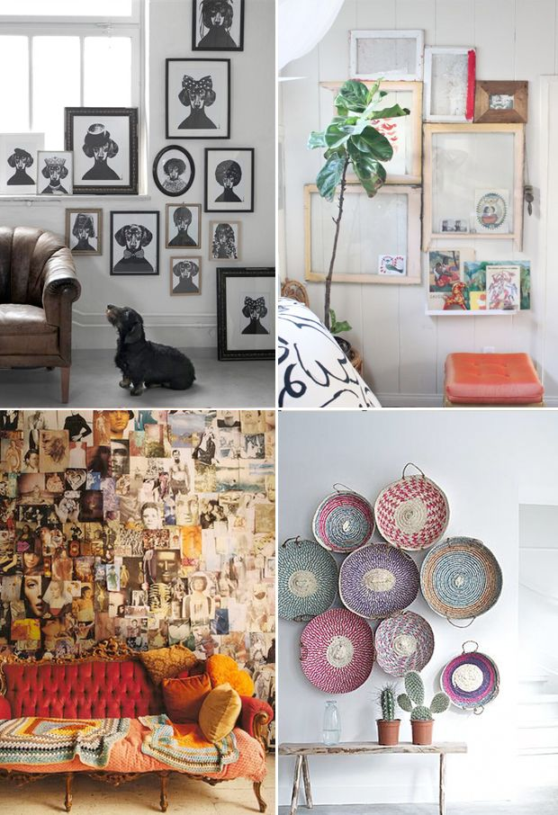 Collected Walls: Create an affordable Gallery for your home