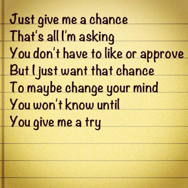 A billion reasons to take a chance tonight