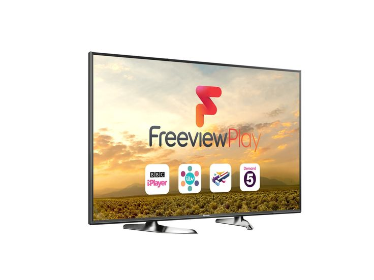 Panasonic TX55DX600B - 55 Inch 4K UltaHD Smart LED TV With Freeview Play.