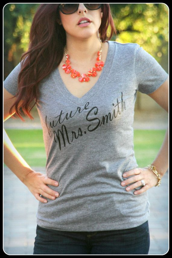 New Future Wifey Shirt Wifey Shirt Bridal by TheStickerPlace