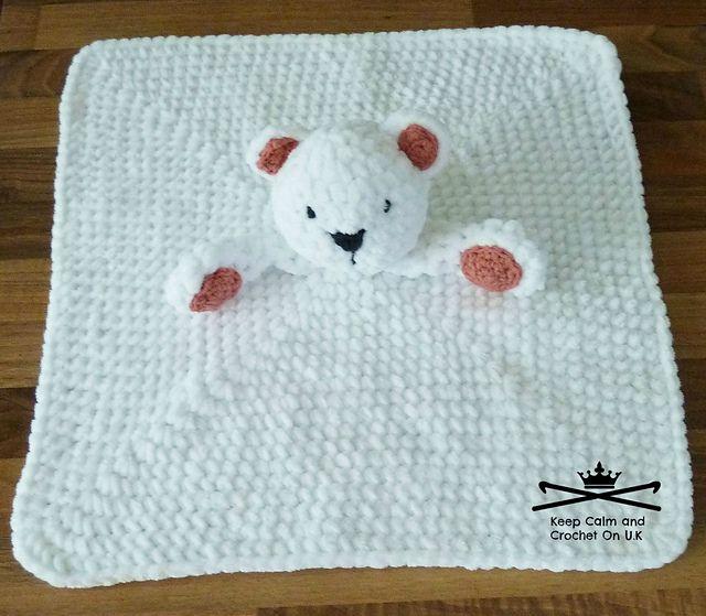 Nanuk The Polar Bear Lovey Pattern By Heather C Gibbs