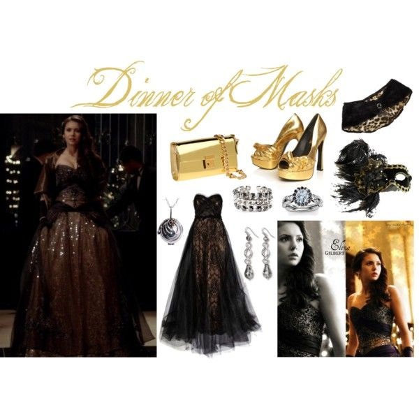"""Dinner of Masks"" by laurac10 on Polyvore"