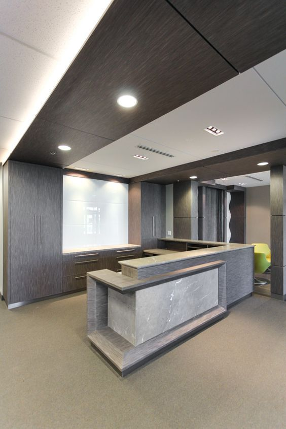 100+ Modern Reception Desks Design Inspiration
