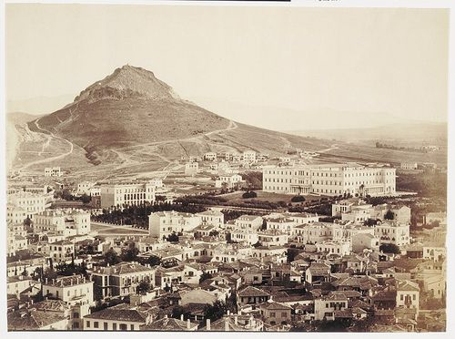 Athens 1860 from acropolis
