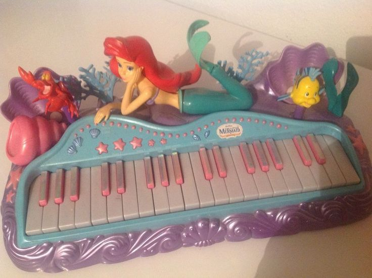 how to play little mermaid on piano
