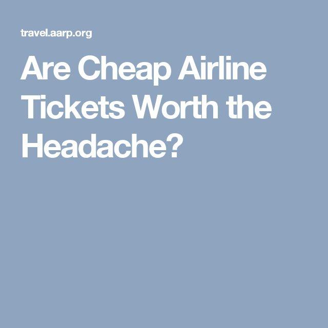 Are Cheap Airline Tickets Worth the Headache?