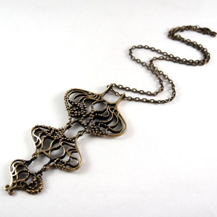 Hannu Ikonen Rainy Days Necklace - Bronze