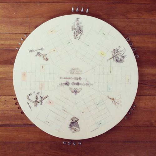 """"""" Maquina para hacer mariposas """" juego de parques 6 puestos #game #handmade #homedecor #himallineishon"""