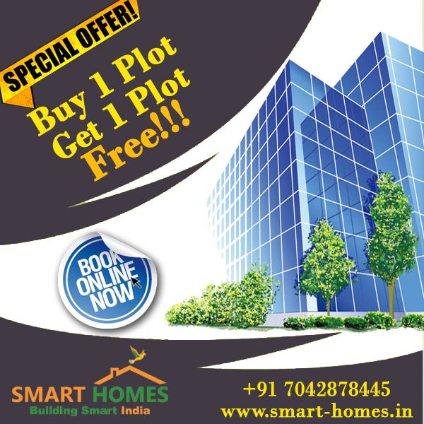 Book your plot in #Dholera Smart City At Zero Down Payment, Buy 1 Get 1 Plot FREE!!! http://bit.ly/1Q6XXTh