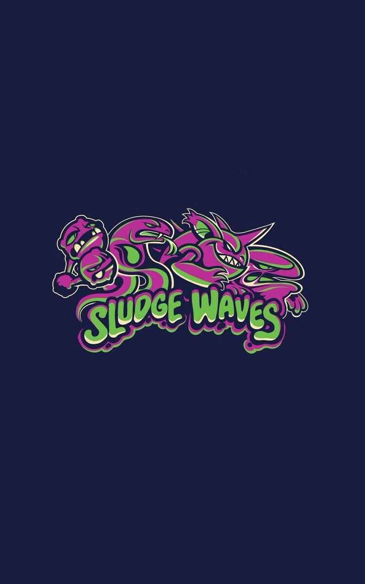 Sludge Waves Pokemon iPhone 5 wallpaper