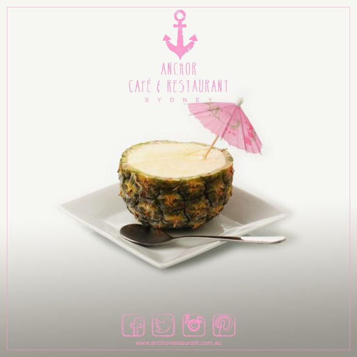 #PineappleTropicale  Gelato Desserts ⚓ ANCHOR Cafe & Restaurant - Taste the difference! Sun-ripened fresh #pineapples create this distinct #tropical and refreshing #gelato. A truly unique and exotic handmade #dessert served it its original shell #anchor #anchorcafe #anchorrestaurant #anchorestaurant #milsonspoint #kirribilli #lavenderbay #northsydney #northshore #mosman #sydneyrestaurants #sydneycafes #icecream #dessertporn #desserttable #affogato #espresso #coffee #pineapple #tropicale