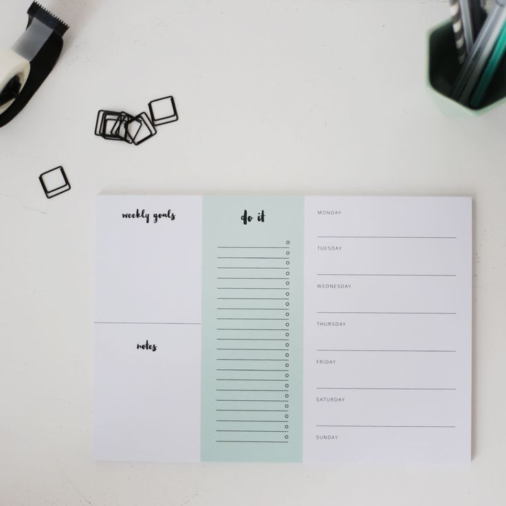 Helps you through every day. desk, organizer, structure, paperclips, black, white, mint