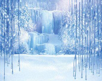 Disney Frozen Backdrop Vertical por SpecialtyBanners en Etsy
