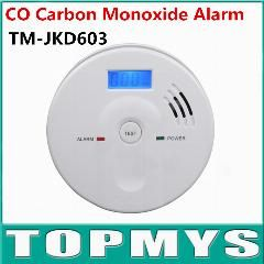 [ $35 OFF ] Carbon Monoxide Sensor En50291 Co Alarm With Lcd Display Home Security Poisoning Smoke Gas Sensor Warning Carbon Monoxide Alarm