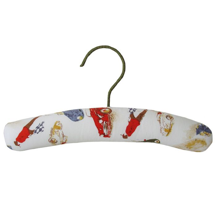Padded Coat Hanger Vintage Racing Cars  – Powell Craft