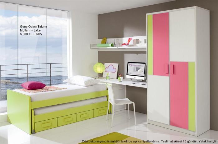 Modern Çocuk Odası Tasarımı