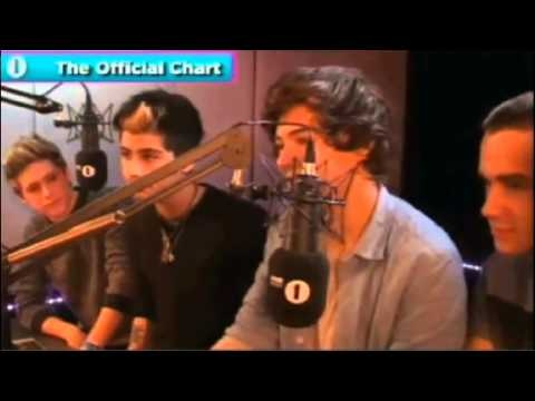 One Direction react to Little Things official chart number 1 my heart can't take it!!! WAZZAAAA!!! I think that's what they said....
