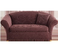 possible slip cover for old love seat
