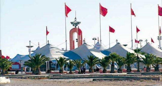 حينما تكشف مدينة العيون عن طابعها الدبلوماسي Taj Mahal Landmarks Western Sahara