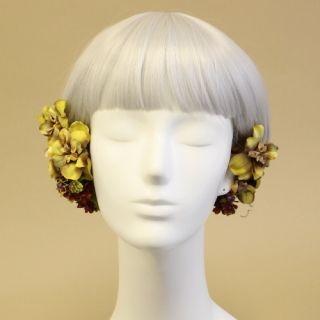 ヘッドドレス・髪飾り - ウェディングヘッドドレス&ヘッドアクセサリー|airaka