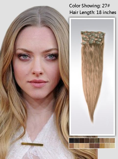 E Hair Treses Fusikes Extensions Remy Clip In Hair