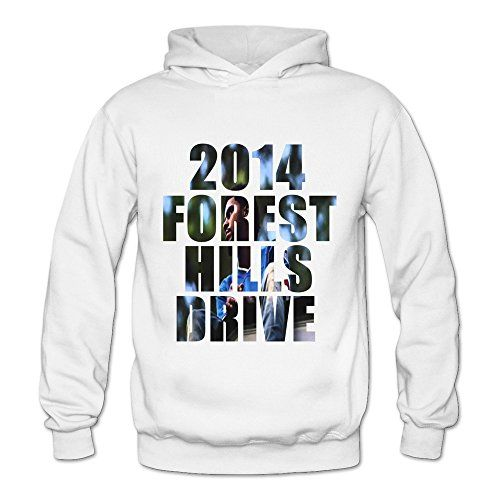Women's J. Cole 2014 Forest Hills Drive Street Wear Hoodies Sweatshirt Size US…