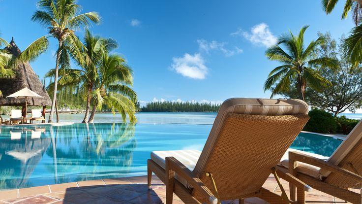 Le Meridien Ile Des Pins - infinity pool