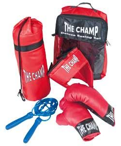 Chad Valley 5 Piece Boxing Set.