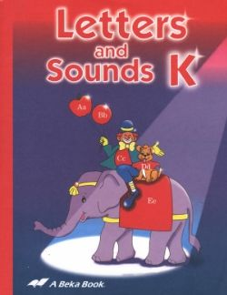 Abeka Books Curriculum For K  By Letters