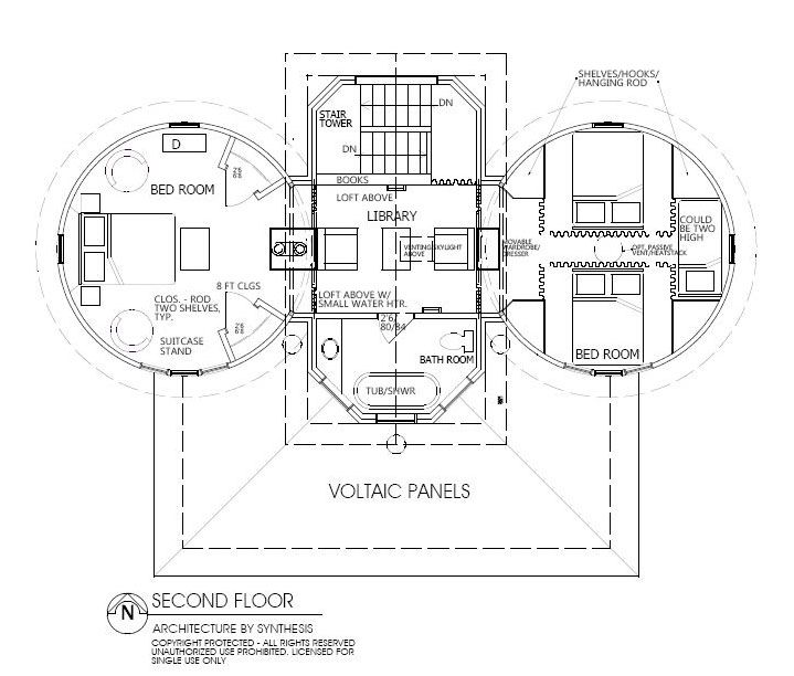 8 best floor plans images on pinterest octagon house for Silo home floor plans
