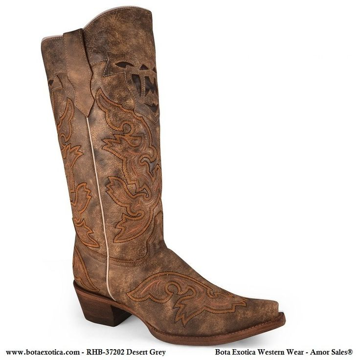 RHB-37202 - Botas Vaqueras para Mujer
