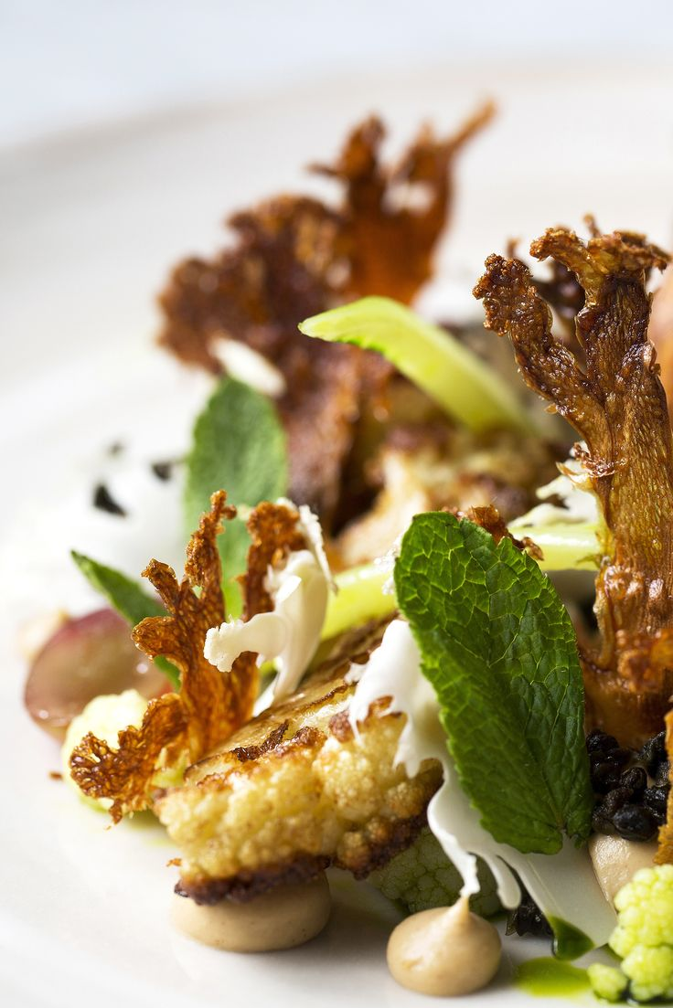 Aromatic homemade raisins and crispy cauliflower slices are just a couple of the cheffy tricks Lee Westcott employs in his signature yeasted cauliflower recipe. You will need a dehydrator to tackle some of the elements in this spectacular dish.