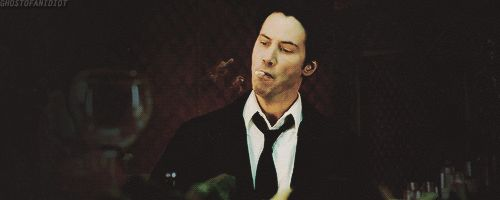 movies smoking keanu reeves constantine