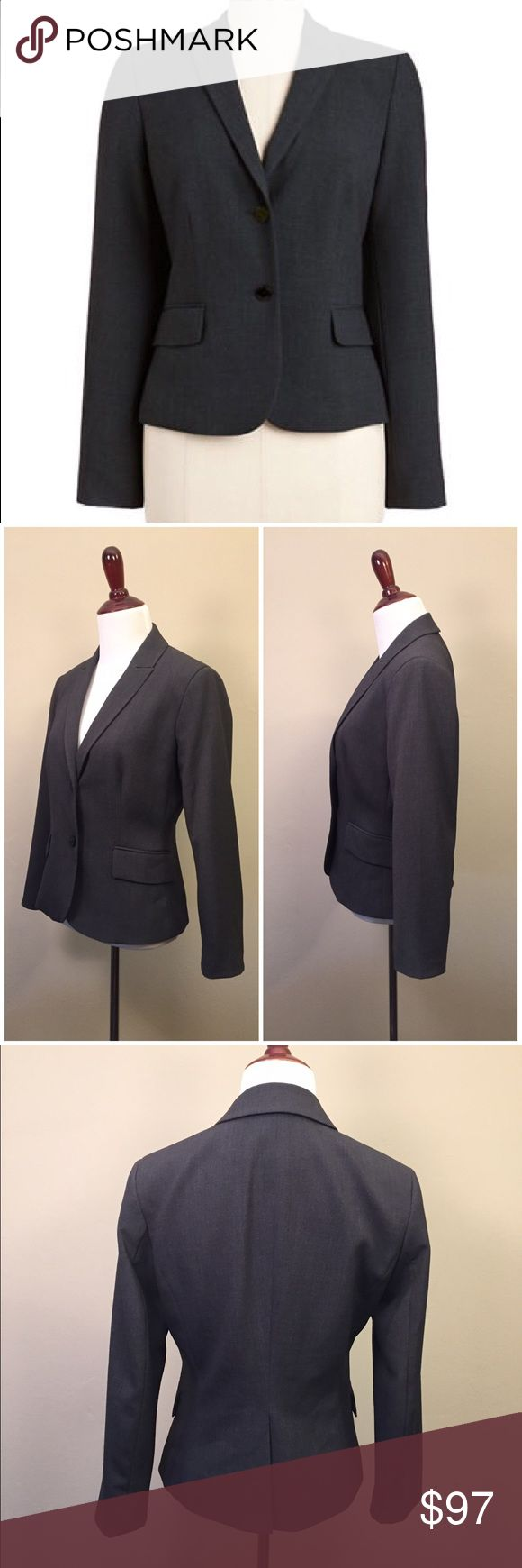 NWOT Tory Burch Two Button Blazer This Tory Burch blazer is a wardrobe essential. Fully lined in a two-button cut, this blazer keeps you comfortable throughout the day and into evening hours with friends. Notched lapel collar Faux front pockets Polyester/rayon/spandex Dry clean Comes from a smoke and pet free home. Item is new without tags and has never been worn Tory Burch Jackets & Coats Blazers
