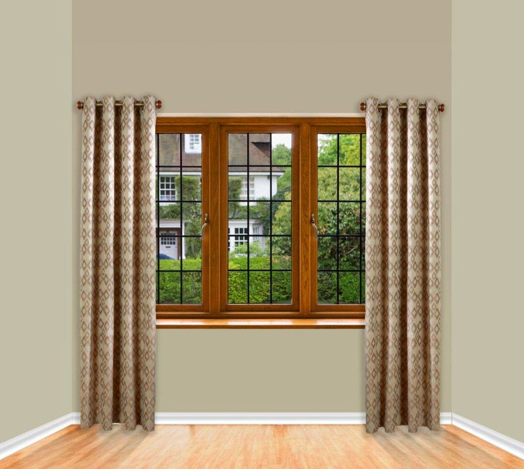 Side Panel Curtain Hardware Short Curtain Rods Panel