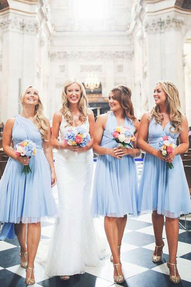 Adorable Blue Bridesmaid Dresses For Your Girls Wedding Forward Blue Bridesmaid Dresses Light Blue Bridesmaid Dresses Blue Bridesmaids