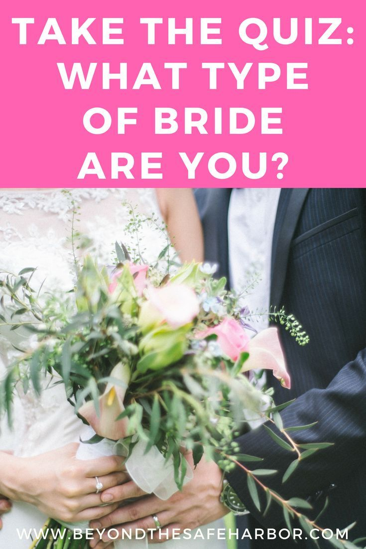 What Type Of Bride Are You This Quiz Will Tell You Wedding Quiz Wedding Dress Quiz Wedding Theme Inspiration