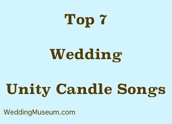 Top 7 Wedding Unity Candle Songs #unitycandle #unitycandlesongs #unitysongs http://ift.tt/2dtV5Xh