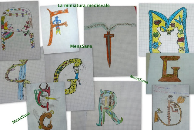 Drawing your own initial: the medieval miniature in the classroom