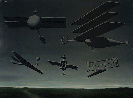 René Magritte Le Drapeau noir [The Black Flag]