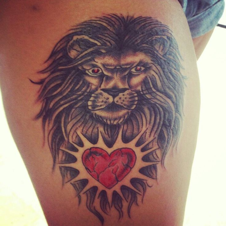 11 Best Best Leo Tattoo Designs Images On Pinterest: 8 Best Leo Heart Tattoo Designs Waist Images On Pinterest