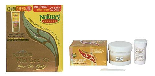 NATURE'S ESSENCE COMBO OF GOLD FACIAL KIT (52G) AND GOLD ... http://www.amazon.in/dp/B0742DZSNM/ref=cm_sw_r_pi_dp_x_CAPGzb147ER3X