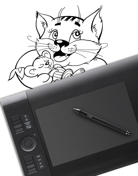Vector Drawing with a Graphic Tablet (Part 1 – Path Creation) + others tutorials of illustrator