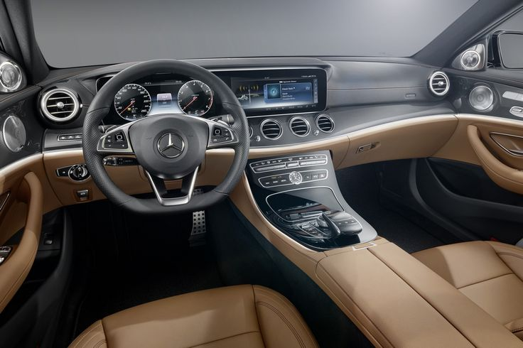 Take a Look Inside the New 2016 Mercedes-Benz E-Class
