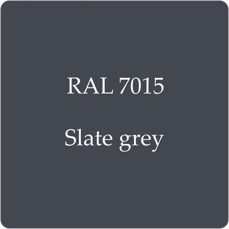 RAL 7015 - Slate Grey (Option 1 for Barn walls, windows, doors) Consider slate roof finish?
