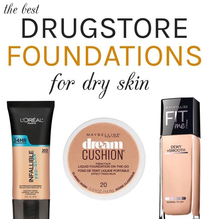 Dry skin? Here are the best drugstore hydrating foundations (all under $15!) with a dewy fresh finish that can easily take your complexion from drab to fab!