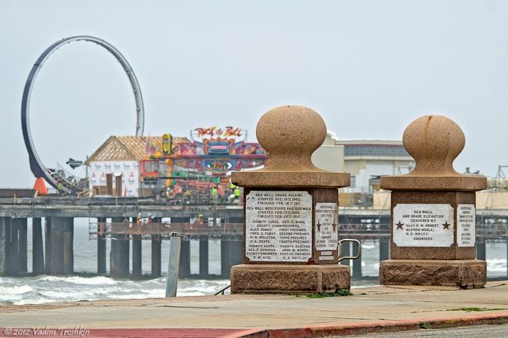 Construction of Galveston Island Historic Pleasure Pier, coming Summer 2012.