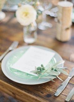 Hemlock Wedding #mint #wedding
